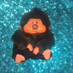 Vintage 1979 Russ Berrie Co Nobby Monkey Plush Toy